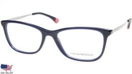 NEW EMPORIO ARMANI EA 3119 5607 OPAL BLUE GREY EYEGLASSES FRAME 52-17-14... - $94.04