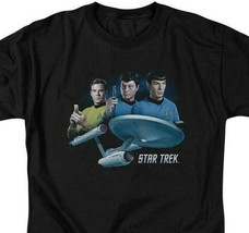 Star Trek Sci-Fi TV series Kirk, Spock  Dr Bones McCoy Graphic tee CBS1325 image 2