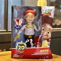 Disney Toy Pixar Thinkway Toys Toy Story Jessie Talking Action Figure Pu... - $55.00