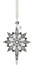 Waterford Crystal 2018 Snowstar Holiday Hanging Christmas Ornament - $57.42