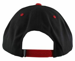 Dissizit Straight Crack Yupoong Wool Blend O/S Cap Black Red Embroidered Hat NWT image 12