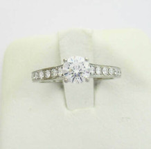 CARTIER Solitaire ring Pt950 0.36ct Used Excellent++ condition women US4 - $2,003.56