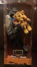 Disney D23 Expo 2019 The Lion King Rafiki and Baby Simba Plush Limited New Box - $120.73