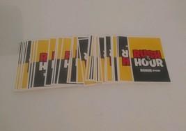 FACT OR CRAP Game replacement pieces parts 45 RUSH HOUR BONUS ROUND CARD... - $6.79