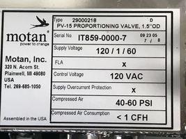 "MOTAN PV-15 PROPORTIONING VALVE, 1.5"" OD, TYPE 29000218 image 4"