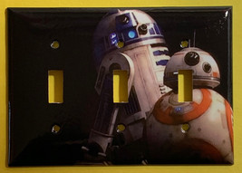 Star Wars BB8 BB-8 R2D2 Robot Light Switch Power Outlet wall Plate Cover decor image 6