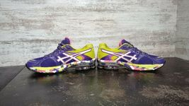 Womens Asics Gel Sendai Running Shoes SZ 6.5 37.5 Used T36DQ Sneakers Trainers image 11