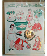 Paper Dolls Adventures of Polly & Peter Perkins Gertrude A. Kay BABY'S B... - $19.75