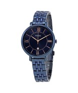 New Fossil Women Jacqueline Blue Dial Stainless Steel Watch #ES4094 - $108.89