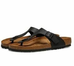 Birkenstock Women's Gizeh Birko-Flor Sandal Flip Flop NWB (Black, Pick S... - $62.99