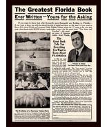 Florida AD 1912 Ocala Palatka Colony Ten Acres Chas. H. Sieg Publication Ad - $14.99