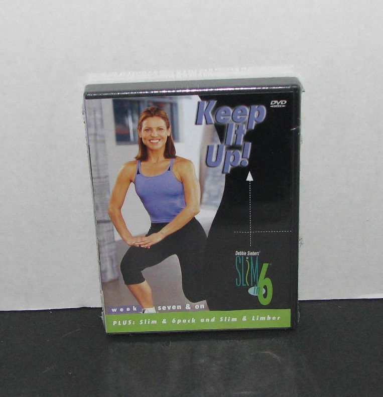 Beachbody Keep It Up! Debbie Siebers Slim in 6 Week 7 & On DVD NEW
