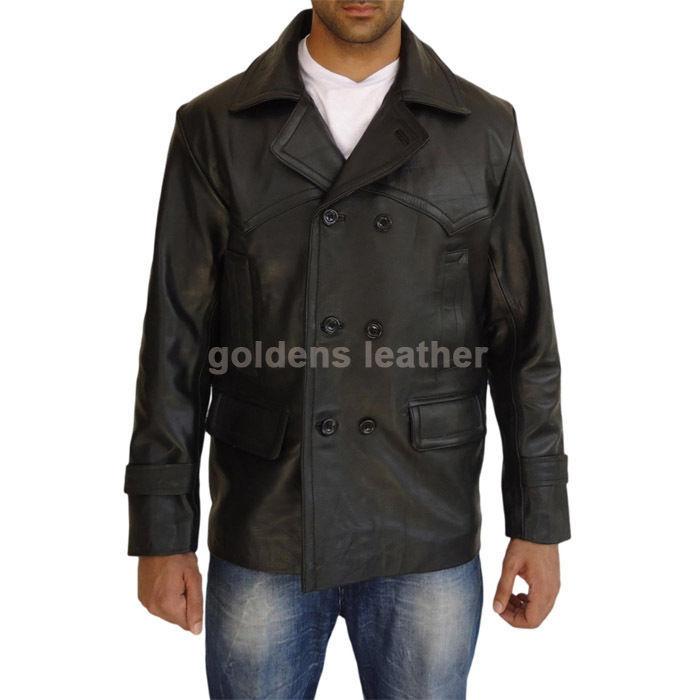 New Men's Stylish Lambskin Genuine Leather Motorcycle Biker Slim Fit Jacket GN19