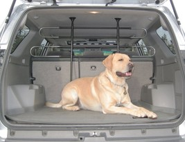 Adjustable Pet Barrier Partition Portable Dog Gate Fence For Car SUV Van... - $57.90