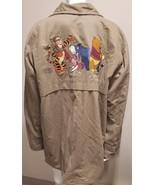 Disney Woman's Pooh Tigger Eeyore Piglet Embroidered Coat Bear Basics Si... - $87.07
