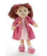 "Adorable Apple Dumplin' Cloth 14"" Doll by Delton - Pink Heart Doll - €24,46 EUR"