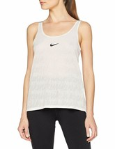 Nike Dry Split-Back Training Tank Top, Color:White , Size: Small - $20.00
