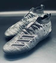 NEW Adidas Adizero 8.0 Black Silver Football Cleats EE7451 Size 10 - $69.29