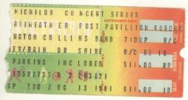Cool ROSSINGTON COLLINS 8/13/81 Columbia MD Concert Ticket Stub! Lynyrd ... - $8.90