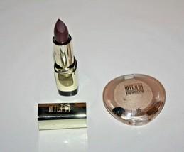Milani Color Statement Lipstick #70 + Runway Eyes Eyeshadow #15 Lot Of 2... - $13.29