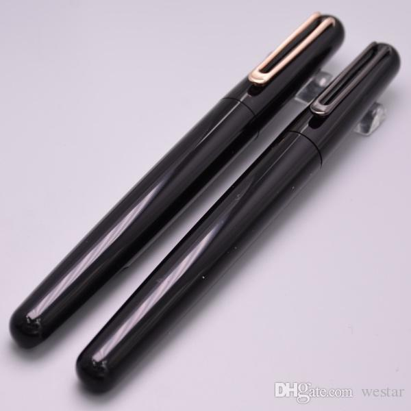 Luxury MT Pen For Black Resin And Metal Magnetic Cap Roller Ball Pen For M Serie