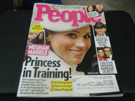 People Magazine - Meghan Markle Princess in Training Cover - March 26, 2018 - $5.93
