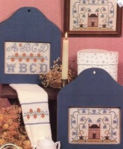 Miniature Samplers III Homespun Elegance Cross Stitch Pattern Leaflet 2 Designs - $3.12