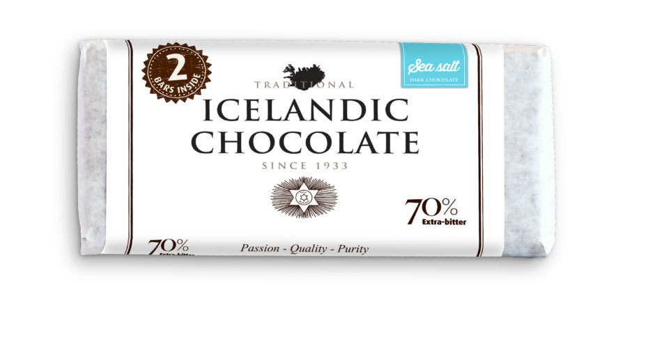 Primary image for Noi Sirius- 70% Traditional Icelandic Chocolate with Sea Salt