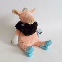 Manhattan Toy Co Tiptoes Pig Plush Glamoriffic Madge Stuffed Animal 2004 - $29.69