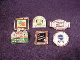 Lot of 6 Chehalis School District Pinback Buttons, Pins, Washington, WA - $11.95