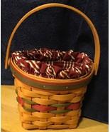 Longaberger Christmas 1999 Little Joy Basket Combo - $37.39