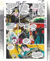 Original 1970s Batman/Kamandi Brave and Bold 120 DC Comics color guide a... - $99.50