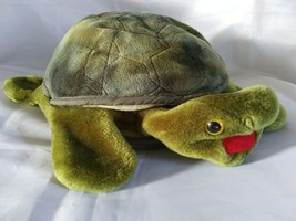 Folkmanis Folktails Turtle Hand Puppet Plush Tortoise Story Time Fun Homeschool - $12.99