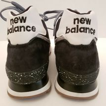 New Balance Men's Size 7 Black and White Running Sneakers USA Made Classic Shoe image 3