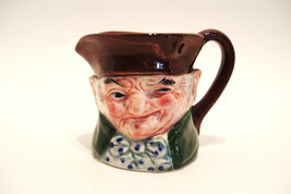 Miniature Toby Jug Made in Japan Vintage 3.25 Inches Tall - $12.99