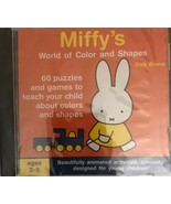 Miffy's World Of Color And Shapes PC CD ROM-Dick Bruna)-RARE VINTAGE-SHI... - $163.34