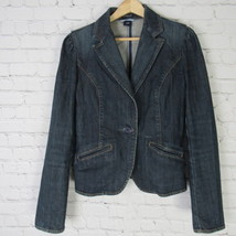 Gap Jean Jacket Womens 8 Denim Stretch B34 - $37.19