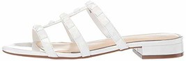 Jessica Simpson Women's CAIRA Sandal, Bright White, 8.5 M US - $50.27