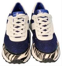 ❤️NIB Michael Kors  Monroe Mixed-media Trainer Wedges athletic shoes Snakers - $79.00