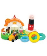Kiddieland Toys Limited Mickey Mouse & Friends Around The Farm Stacker - $29.37