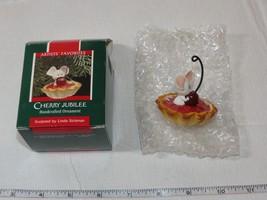 Hallmark  Keepsake Ornament Cherry Jubilee Handcrafted Ornament 1989 Pre... - $29.69