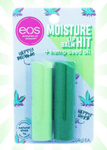 eos Happy Herb & Happy Brownie w/ Hemp Seed Oil 420 LIMITED EDITION Lip ... - $14.10