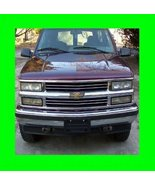 1995-1999 CHEVROLET CHEVY TAHOE CHROME GRILL GRILLE KIT 1996 1997 1998 9... - $30.00