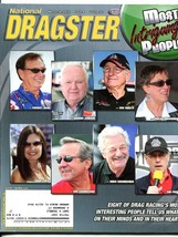 NATIONAL DRAGSTER 5 LOT-2010-READERS CHOICE-SUMMIT/AAA NATIONALS-INTERVI... - $43.46