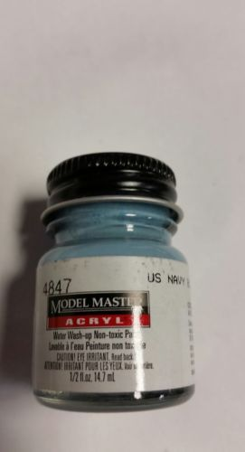 Primary image for Testors Model Master US Navy Blue Gray M-485 1/2 oz, TES4847