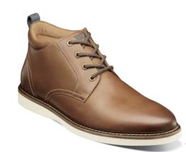 Nunn Bush Ridgetop Plain Toe Chukka Boot Tan Multi  Leather 84825-238 - $102.00
