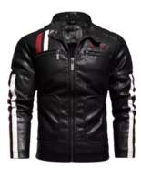 Men New Winter leather Jacket - $69.99