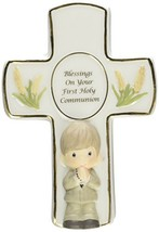 Precious Moments,  Blessings On Your First Holy Communion, Bisque Porcel... - $20.99