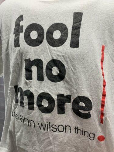 The Ann Wilson Think Bouffon Plus Coeur T-Shirt Hommes Taille XL