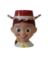 Toy Story Jessie Cowgirl Disney on Ice Plastic Cup Mug with Flip Hat Lid - $9.32